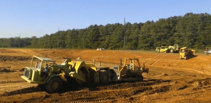 Schoppman Company's Construction Project at Locust Grove Underway
