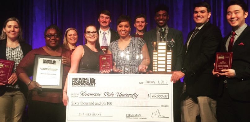 Schoppman Company Intern Wins Award with Construction Management Team at KSU